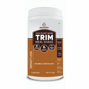 PlantVita Trim Meal Shake For Weight Loss Chocolate,400gm