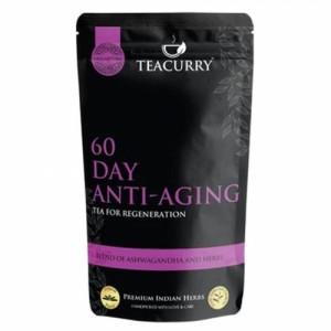 Teacurry Anti Ageing Tea, 60 Tea Bags