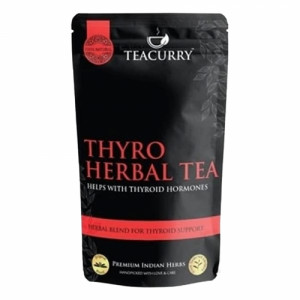 Teacurry 60 Day Women Fertility with 60 Day PCOS PCOD Tea Combo Pack (100gm Each)