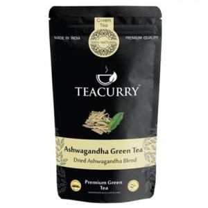 Teacurry Ashwagandha Green Tea, 60 Tea Bags