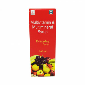 Everyday Multivitamin & Multimineral Syrup, 200ml
