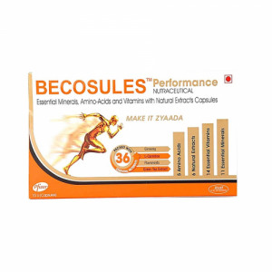 Becosules Performance, 15 Capsules