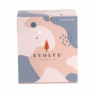 Evolve Essential Rash-free Medium flow Sanitary Napkin, Pack of 18