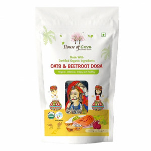 House of Green Oats And Beetroot Dosa, 200gm