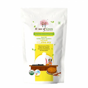 House of Green Roasted Multrigrain Paratha, 400gm