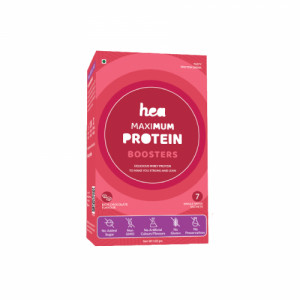 Hea Maximum Protein Boosters For Women, 7 Sachets