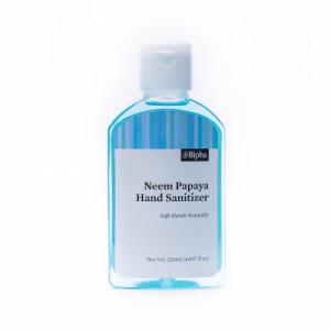Bipha Ayurveda Neem Papaya Hand Sanitizer Liquid, 120ml