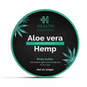 Health Horizons Aloevera & Hemp Body Butter, 100gm
