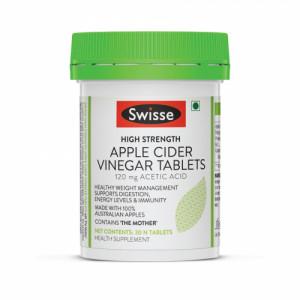 Swisse High Strength Apple Cider Vinegar, 30 Tablets