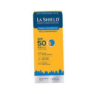 La Shield Pollution Protect Mineral Sunscreen Gel SPF 50, 50gm