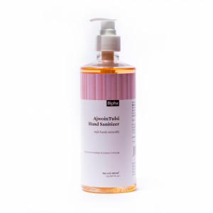 Bipha Ayurveda Ajwoin Tulsi Hand Sanitizer Liquid, 500ml