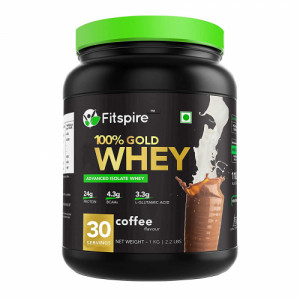 Fitspire Gold Whey Protein Isolate, 1kg