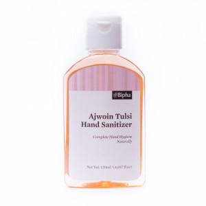 Bipha Ayurveda Ajwoin Tulsi Hand Sanitizer Liquid, 120ml