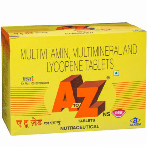 A to Z NS New, 15 Tablets