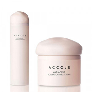 Accoje Anti - Aging Essential Firstner + Anti - Aging Volume Capsule Cream, 170ml