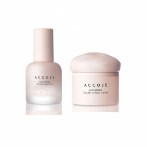Accoje Anti - Aging Intensive Ampoule + Anti - Aging Volume Capsule Cream, 80ml