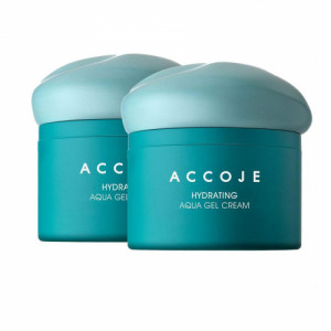 Accoje Hydrating Aqua Gel Cream, 50ml (Pack Of 2)
