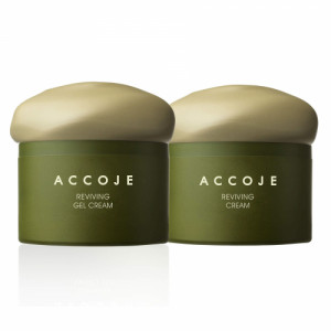 Accoje Reviving Cream + Reviving Gel Cream, 100ml