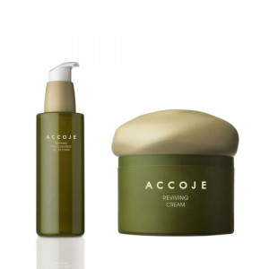 Accoje Reviving Dust Cleansing Gel to foam + Reviving Cream, 230ml