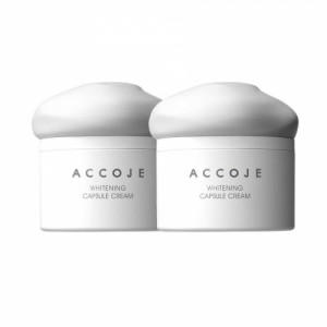 Accoje Whitening Capsule Cream, 50ml (Pack of 2)