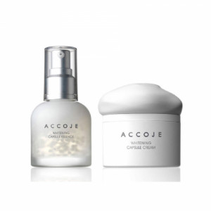 Accoje Whitening Capsule Essence + Whitening Capsule Cream, 100ml