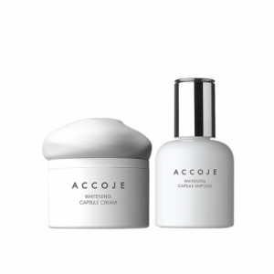 Accoje Whitening Capsule Ampoule Capsule Cream, 80ml