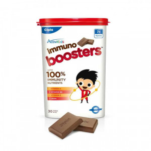 ActiveKids Immuno Boosters For 7+  Years, 30 Choco Bites