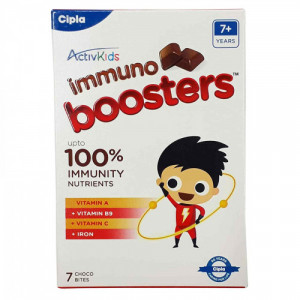 ActiveKids Immuno Boosters For 7+  Years, 7 Choco Bites