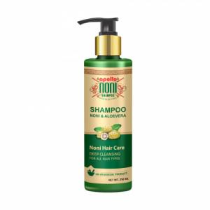 Apollo Noni With Aloevera Deep Cleansing Shampoo, 250ml