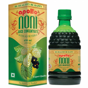 Apollo Noni With Aloevera Juice Concentrate, 450ml