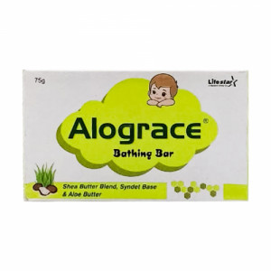 Alograce Bathing Bar, 75gm