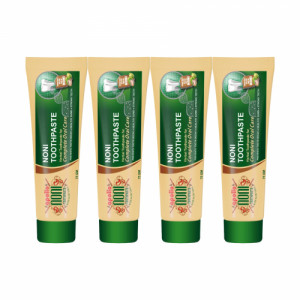 Apollo Noni With Aloevera Toothpaste, 75gm (Pack of 4)