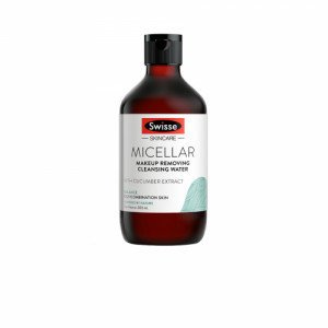 Swisse Skincare Micellar Makeup Removing Cleansing Water, 300ml
