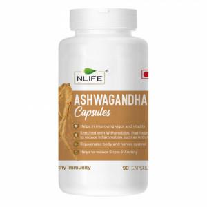 Nlife Ashwagandha, 90 Capsules