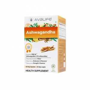 Avalife Ashwagandha, 60 Capsules