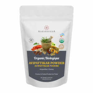 Aarshaveda Organic Avipattikar Powder, 100gm