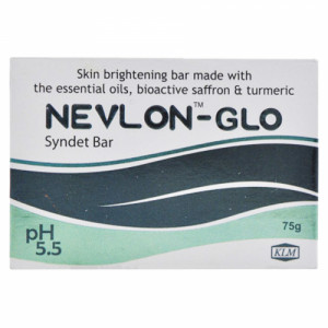 Nevlon Glo Syndet Bar, 75gm