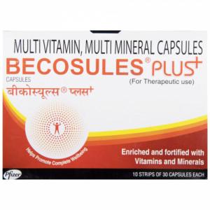 Becosules Plus, 30 Capsules