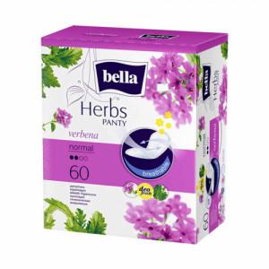 Bella Herbs Pantyliners With Verbena, 60 Pieces