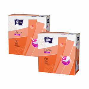 Bella Panty Soft, 60 Pieces ( Pack Of 2)