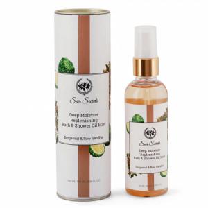 Seer Secrets Bergamot & Raw Sandhal Deep Moisture Replenishing Bath & Shower Oil, 100ml