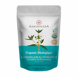 Aarshaveda Organic Bhringaraj Powder, 200gm