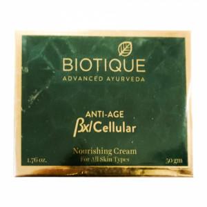 Biotique Bio Anti-Age Nourishing BXL Cellular Cream, 50gm