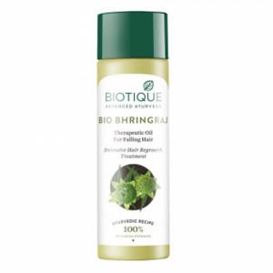 Biotique Bio Bhringraj Fresh Growth Therapeutic Oil,120ml