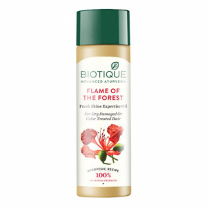 Biotique Bio Flame Of The Forest Fresh Shine Expertise Oil, 120ml