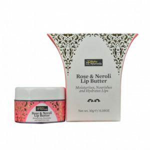 Bipha Ayurveda Rose & Neroli Lip Butter, 10gm
