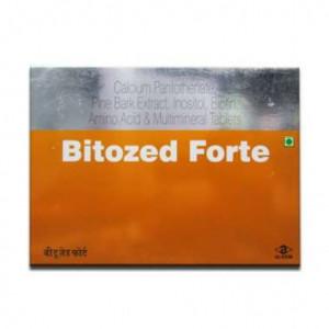 Bitozed Forte, 15 Tablets