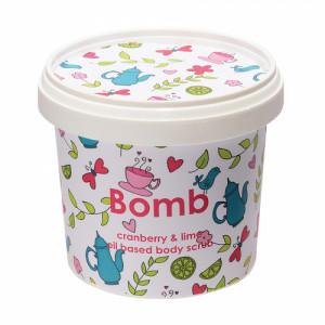 Bomb Cosmetics Cranberry & Lime Body Scrub, 400gm