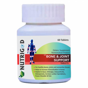 Nutrigod Bone And Joint Support, 60 Tablets