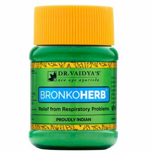 Dr. Vaidya's Bronkoherb Powder, 50gm (Pack Of 2)